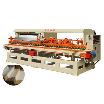 Edge Polishing Machine for stair step risers tiles bullnose stone 10 heads