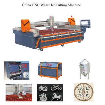 Abrasive waterjet cutting machine CNC 5 axis ultra high pressure