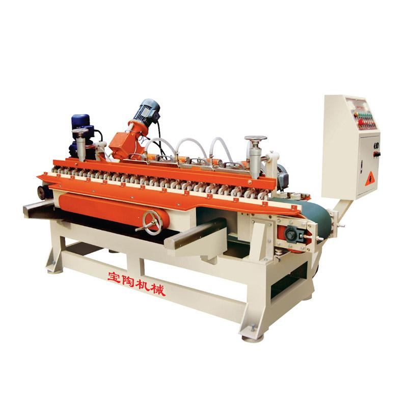 3+1 automatic grinding chamfering beveling machine for ceramic tile edge