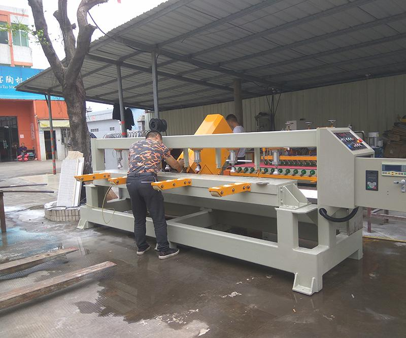 chamfer edge cutting machine for Neolith sintered porcelain big slabs 3200